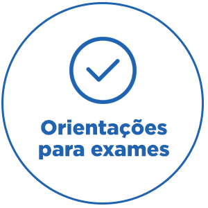 Orientações para Exames